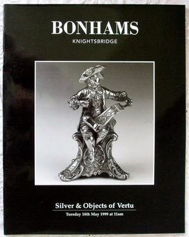 Antique Bonhams ~ Silver & Objects of Vertu ~ London ~ 18. 05. 1999