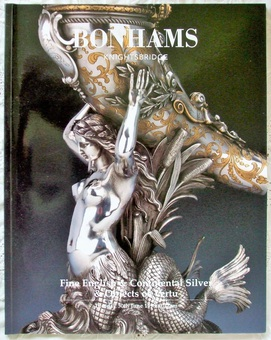 Antique Bonhams ~ Fine English & Continental Silver & Objects of Vertu ~ London ~ 30. 06. 1998