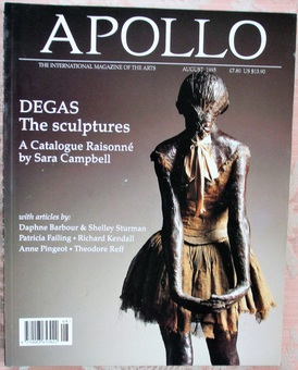Antique Apollo ~ Vol. CXLII ~ No. 402 ~ August 1995