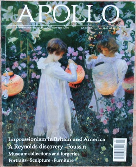 Antique Apollo ~ Vol. CXLI ~ No. 400 ~ June 1995