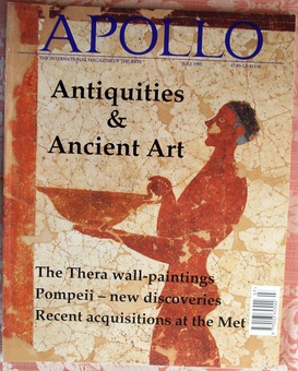 Antique Apollo ~ Vol. CXXXVIII ~ No. 377 ~ July 1993