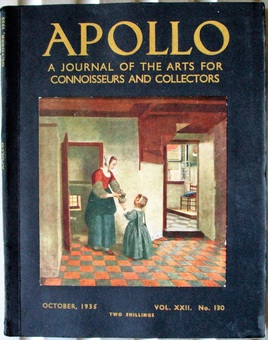 Antique Apollo ~ Vol. XXII ~ No. 130 ~ October 1935