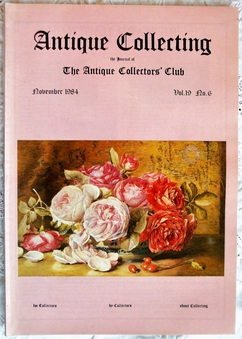 Antique Antique Collecting ~ Vol. 19 ~ No. 6 ~ November 1984
