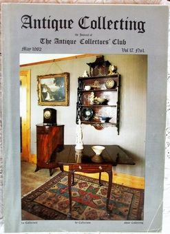 Antique Antique Collecting ~ Vol. 17 ~ No. 1 ~ May 1982