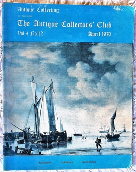 Antique Antique Collecting ~ Vol. 4 ~ No. 12 ~ April 1970