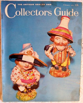 Antique The Antique Dealer and Collectors Guide ~ Vol. 17 ~ No. 7 ~ February 1963