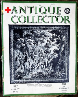 Antique The Antique Collector ~ Vol. 13 ~ No. 4 ~ July - August 1942