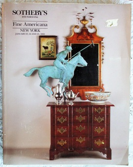 Antique Sotheby's ~ Fine Americana ~ New York ~ 23. - 25. 01. 1992