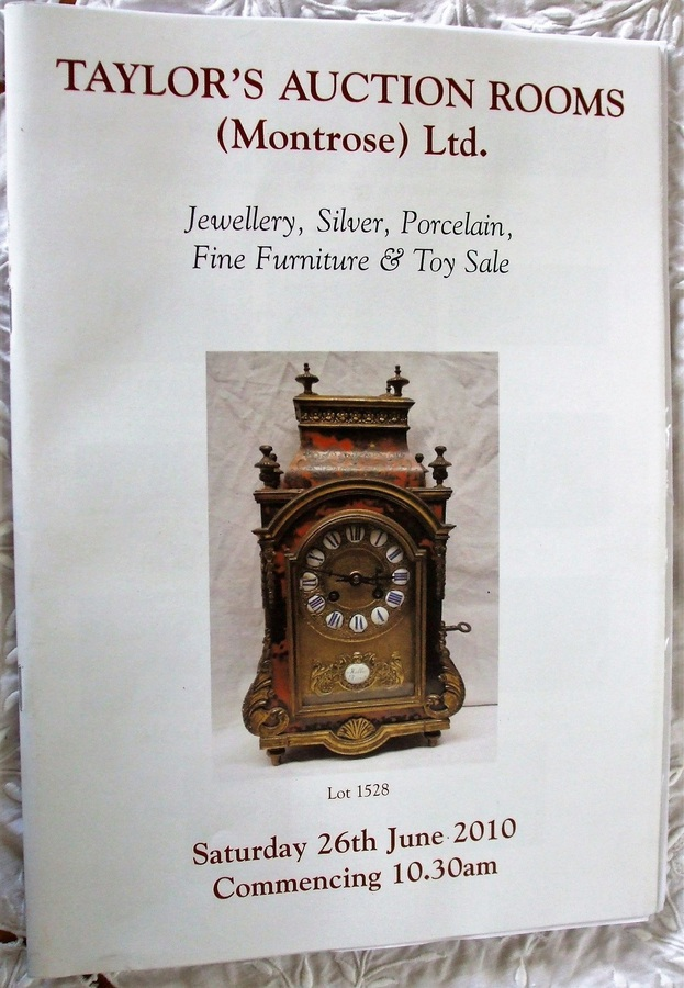 Antique Taylor's ~ Jewellery, Silver, Porcelain, Fine Furniture and Toys ~ Montrose ~ 26. 06. 2010