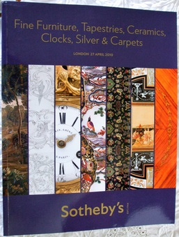Sotheby's ~ Fine Furniture, Tapestries, Ceramics, Clocks, Silver & Carpets ~ London ~ 27...
