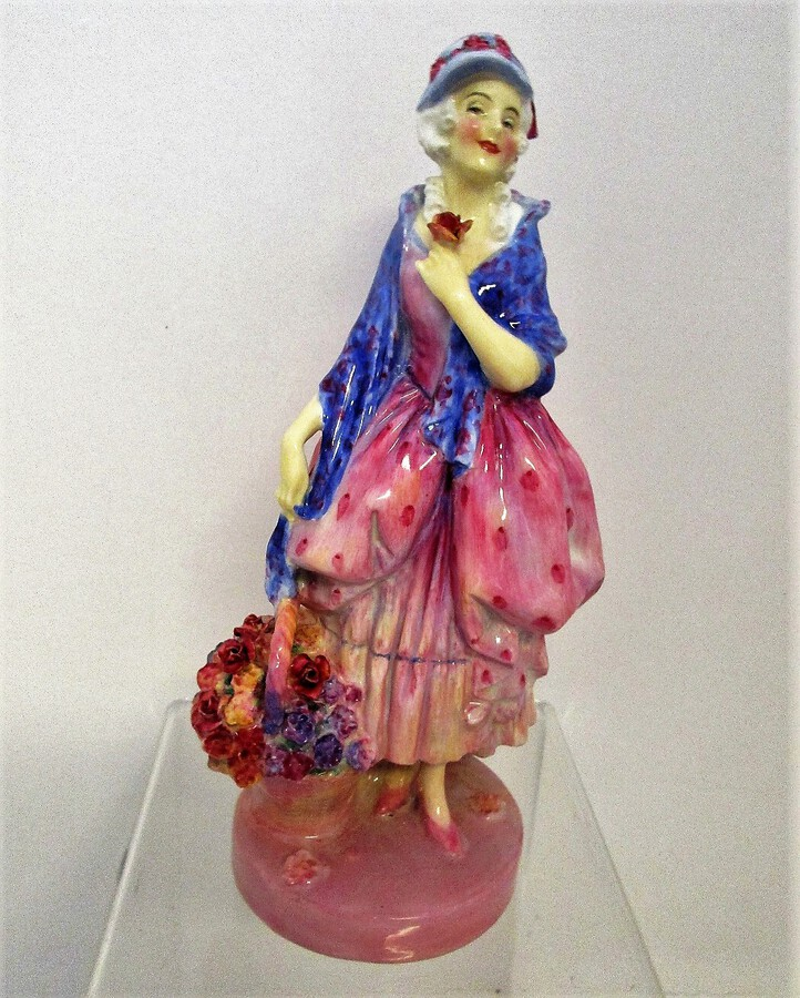 "Vintage Royal Doulton English Porcelain Figurine ~ ""Phyllis"" ~ HN 1486"