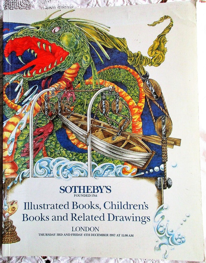 Sotheby's ~ Illustrated Books, Children's Books and Related Drawings ~ London ~ 04. 12. 1987
