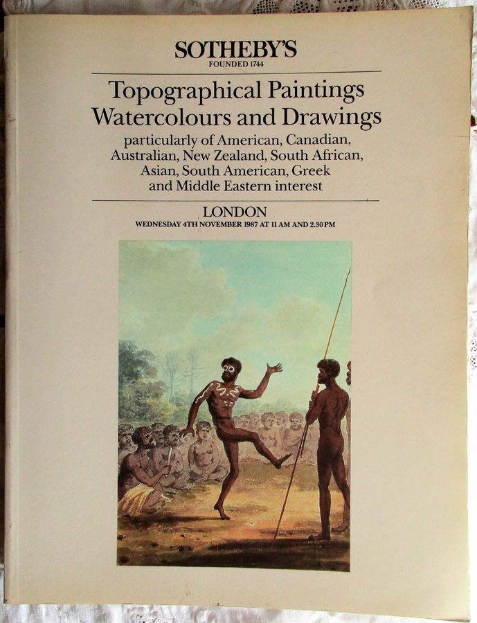 Sotheby's ~ Topographical Paintings, Watercolours and Drawings ~ London ~ 04. 11. 1987