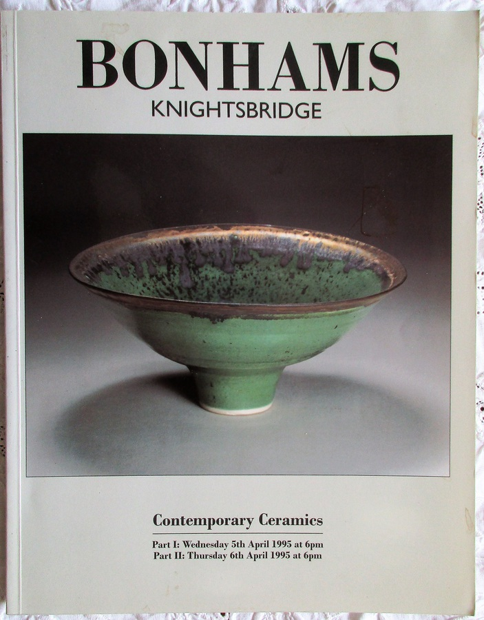 Bonhams ~ Contemporary Ceramics ~ London ~ 05. - 06. 04. 1995