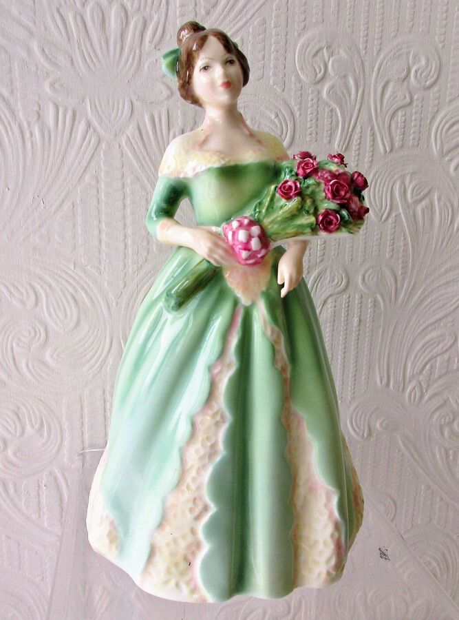 "Royal Doulton English Porcelain Figurine ~ ""Happy Birthday"" ~ HN 3660"