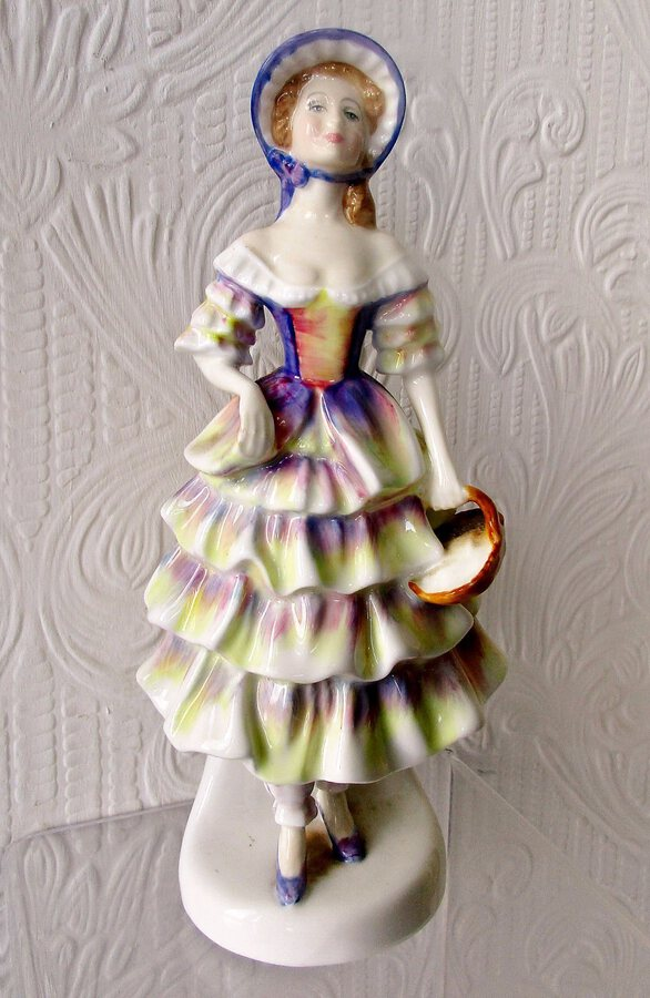 "Royal Doulton English Porcelain Figurine ~ ""Meg"" ~ HN 2743"