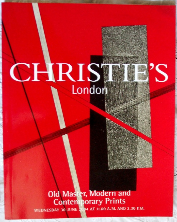 Christie's ~ Old Master, Modern and Contemporary Prints ~ London ~ 30. 06. 2004