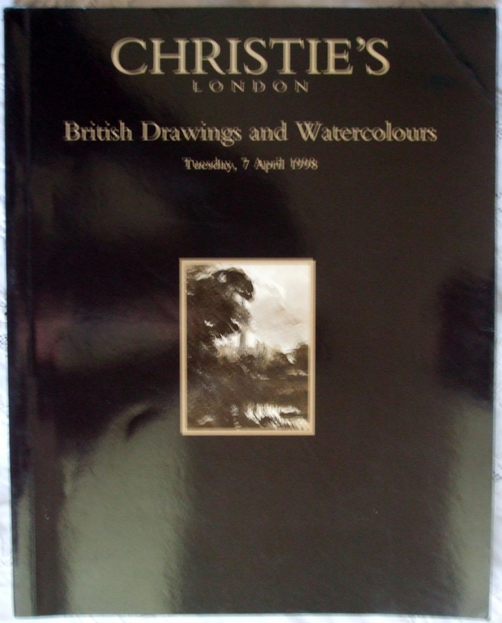 Christie's ~ British Drawings and Watercolours ~ London ~ 07. 04. 1998