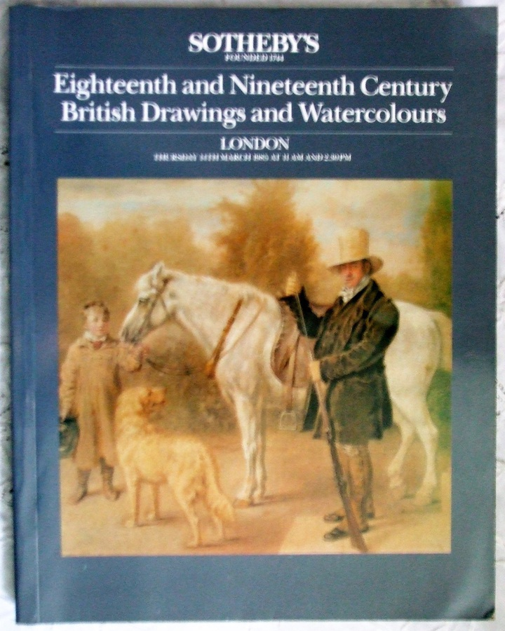 Sotheby's ~ Eighteenth and Nineteenth Century British Drawings and Watercolours ~ London ~ 14. 03. 1985