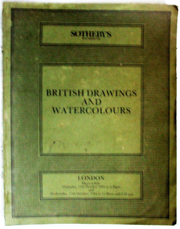 Sotheby's ~ British Drawings and Watercolours ~ London ~ 11. & 17. 10. 1984