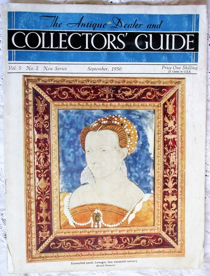 The Antique Dealer and Collectors Guide ~ Vol. 5 ~ No. 2 ~ September 1950