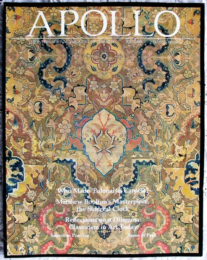 Apollo ~ Vol. CXXVIII ~ No. 317 ~ July 1988