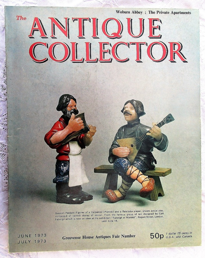 The Antique Collector ~ Vol. 44 ~ No. 3 ~ June - July 1973