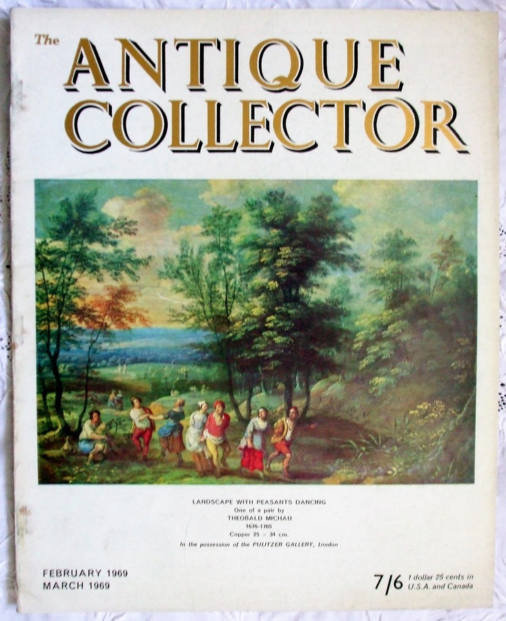 The Antique Collector ~ Vol. 40 ~ No. 1 ~ February - March 1969