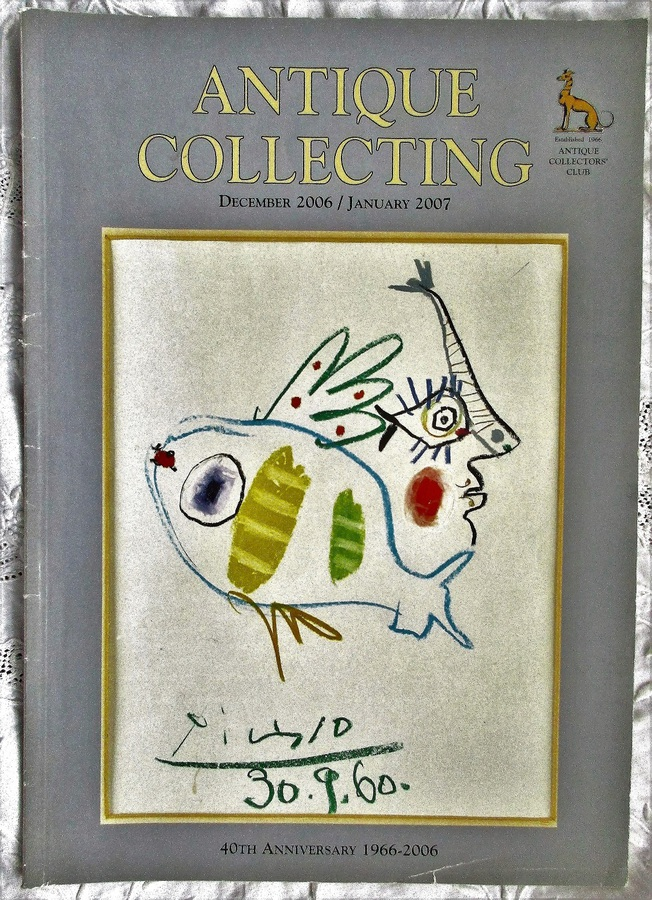 Antique Collecting ~ Vol. 41 ~ No. 7  ~ December 2006