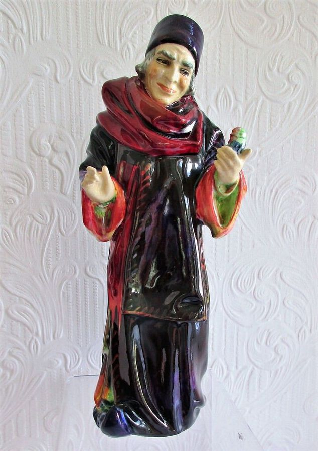 "Vintage Royal Doulton English Porcelain Figurine ~ ""The Alchemist"" ~ HN 1282"