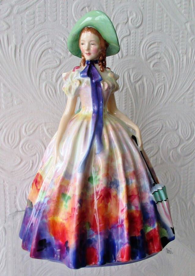 "Vintage Royal Doulton English Porcelain Figurine ~ ""Easter Day"" ~ HN 2039"