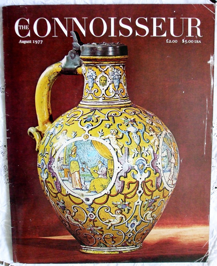 The Connoisseur ~ Vol. 195 ~ No. 786 ~ August 1977