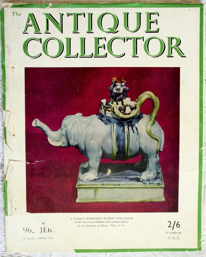The Antique Collector ~ Vol. 21 ~ No. 1 ~ January - February 1950
