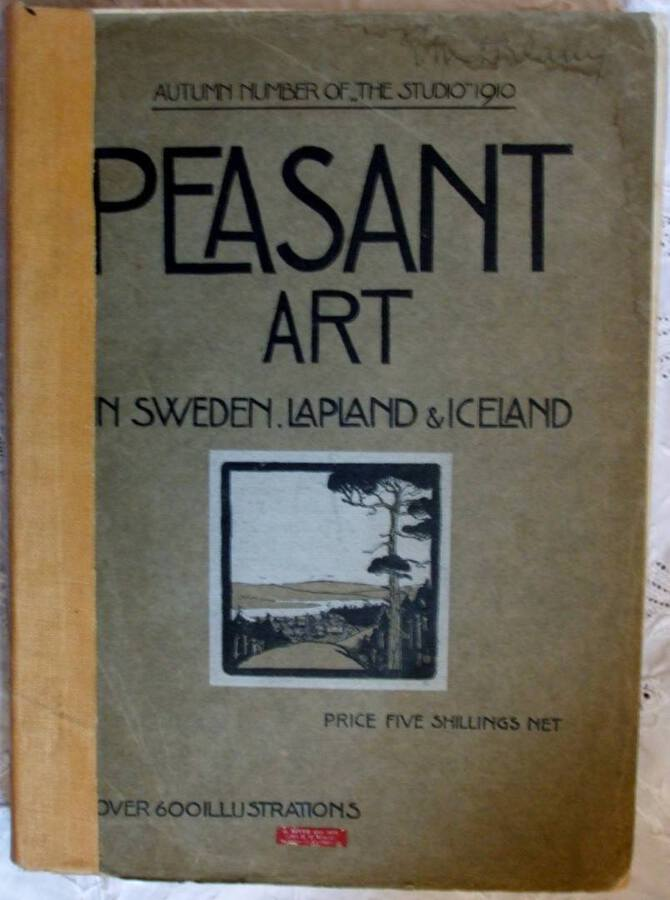 Peasant Art in Sweden, Lapland and Iceland ~ The Studio ~ Autumn 1910