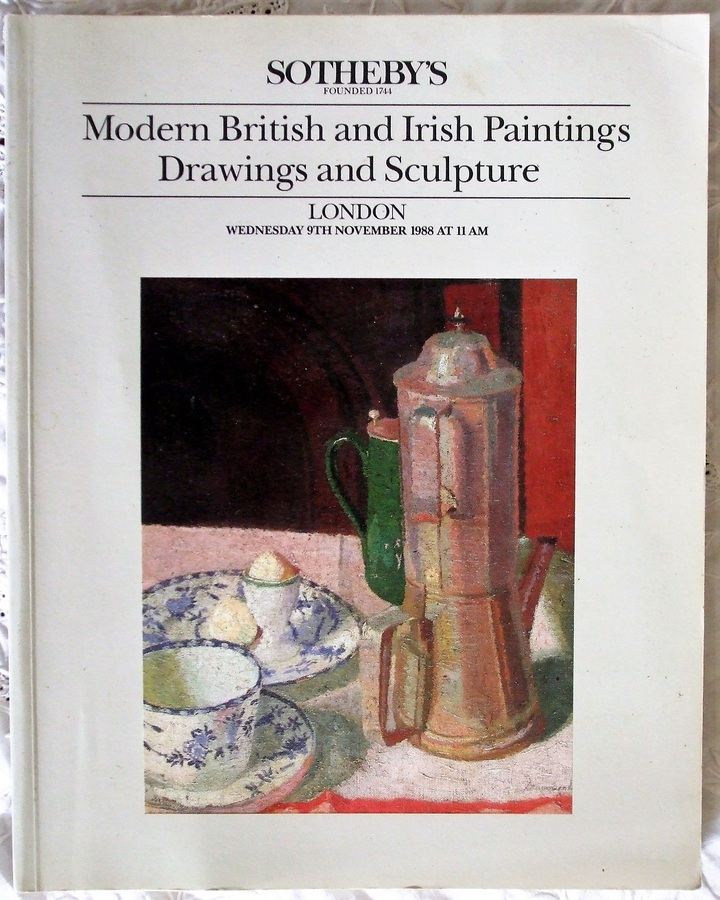 Antique Sotheby's ~ Modern British and Irish Paintings, Drawings and Sculpture ~ London ~ 09. 11. 1988
