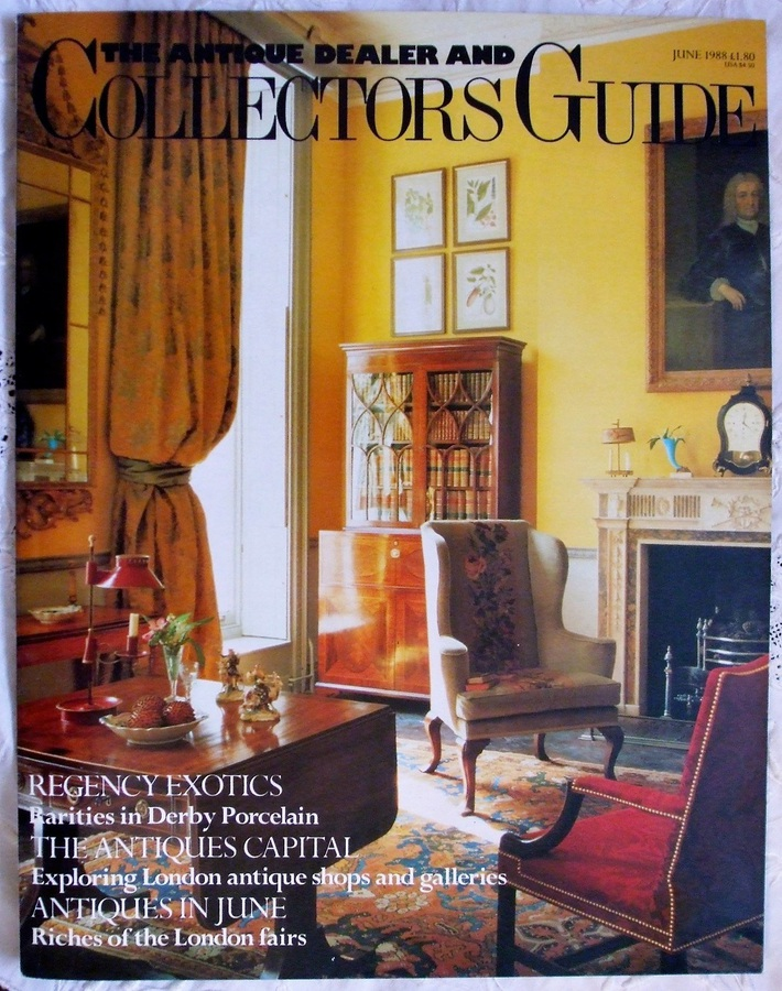 Antique The Antique Dealer and Collectors Guide ~ June 1988