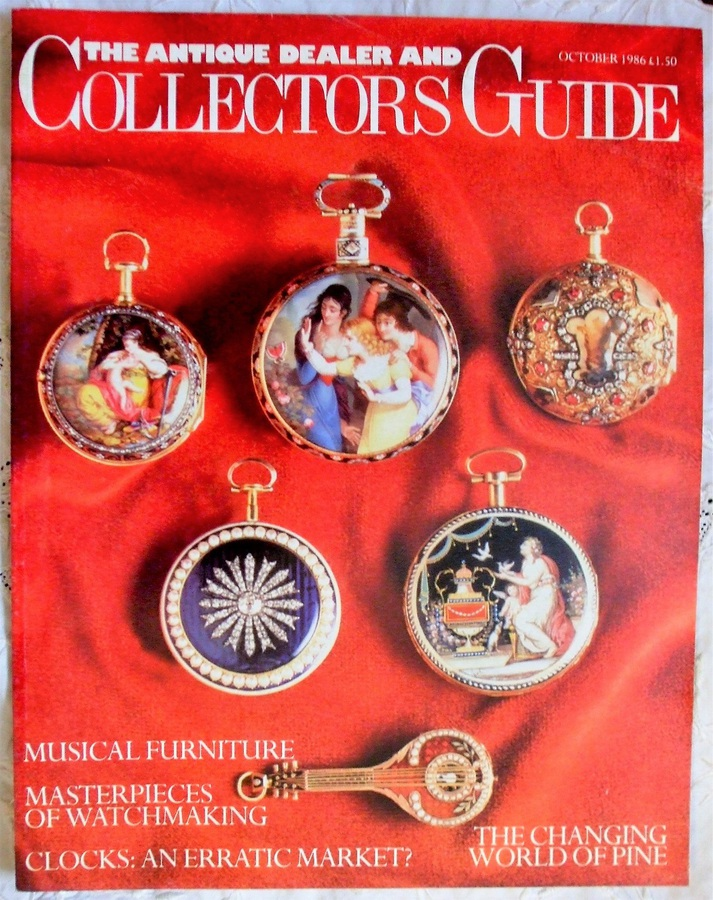 The Antique Dealer and Collectors Guide ~ October 1986