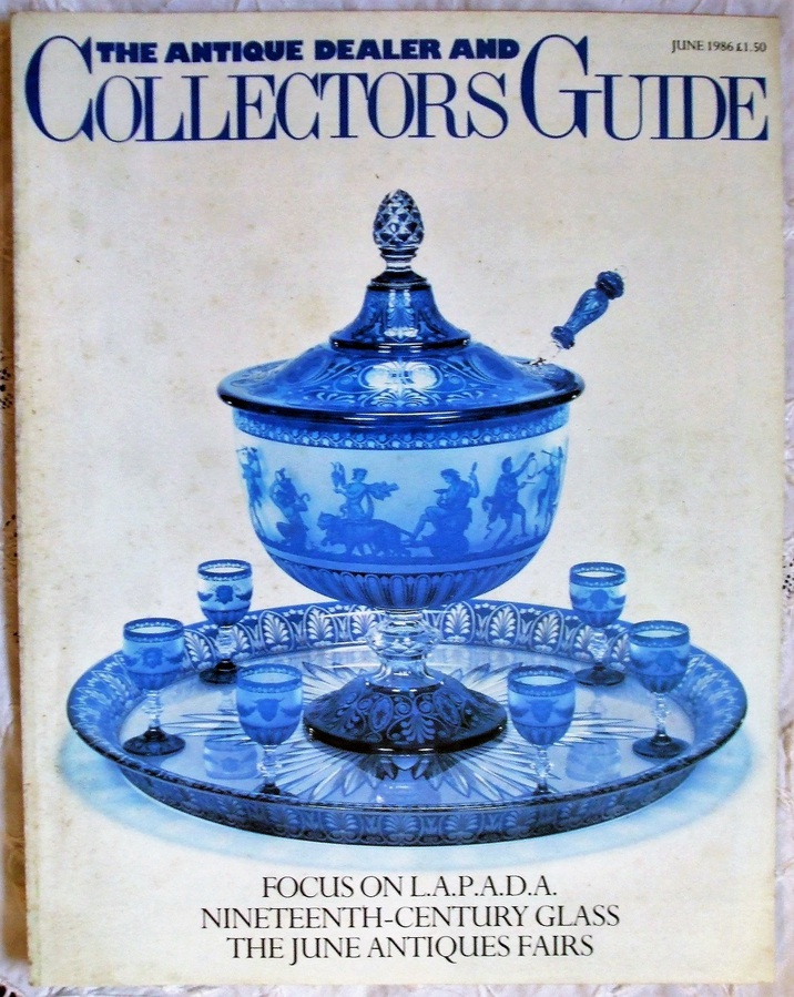 The Antique Dealer and Collectors Guide ~ June 1986