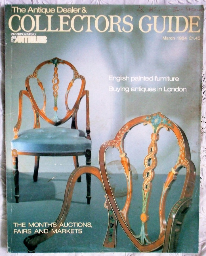 The Antique Dealer and Collectors Guide ~ March 1984