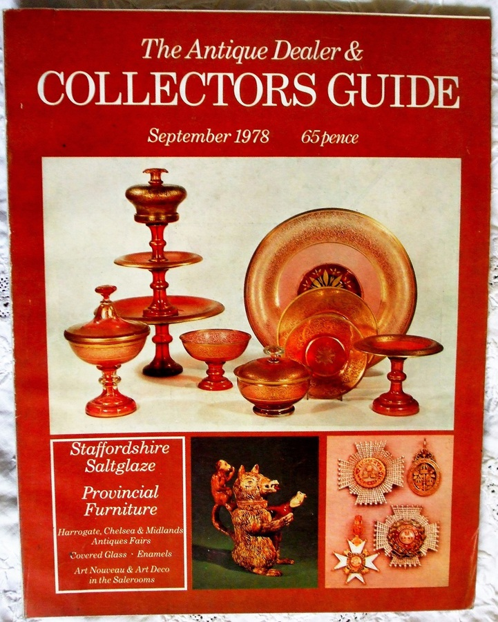 The Antique Dealer and Collectors Guide ~ September 1978