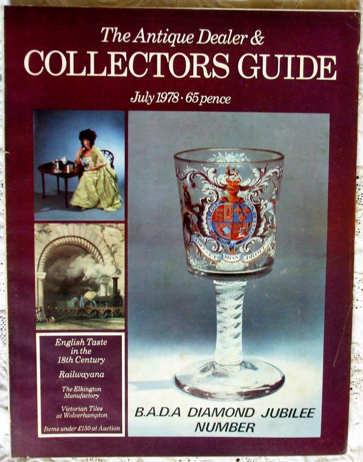 The Antique Dealer and Collectors Guide ~ July 1978