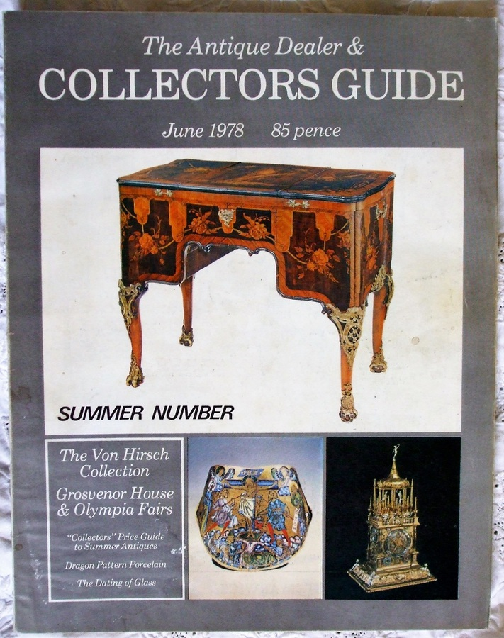The Antique Dealer and Collectors Guide ~ June 1978
