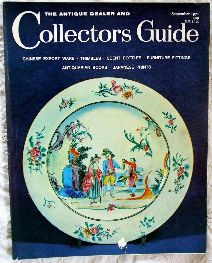 The Antique Dealer and Collectors Guide ~ September 1971