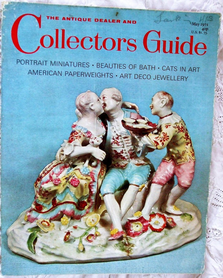 The Antique Dealer and Collectors Guide ~ May 1971