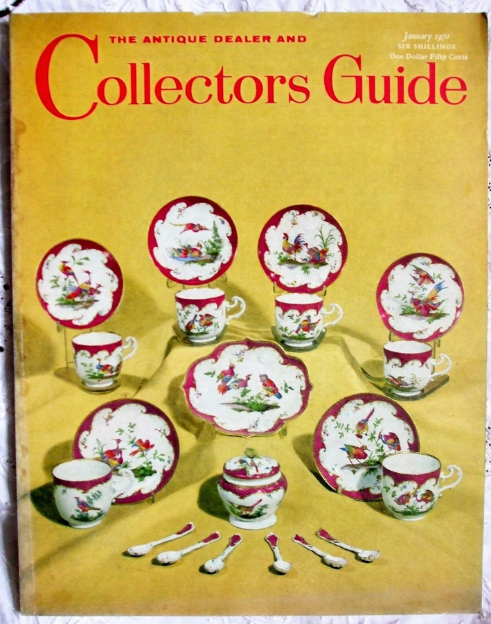 The Antique Dealer and Collectors Guide ~ January 1970