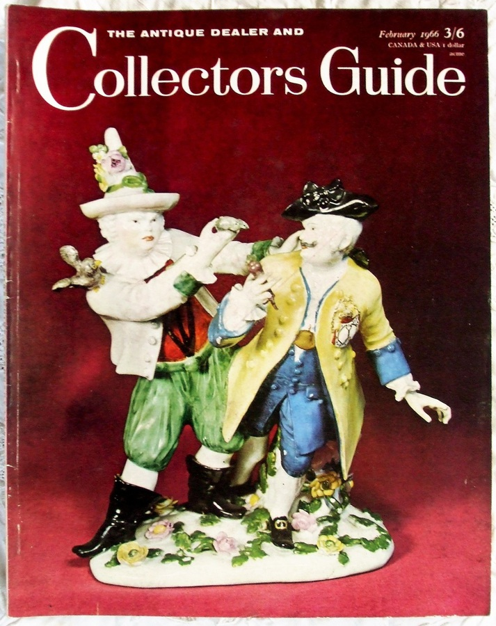 The Antique Dealer and Collectors Guide ~ Vol. 20 ~ No. 7 ~ February 1966