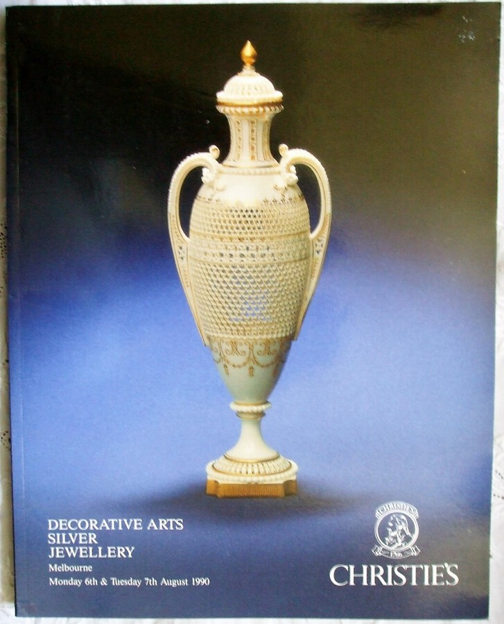 Christie's ~ Decorative Arts, Silver and Jewellery ~ Melbourne ~ 06. - 07. 08. 1990