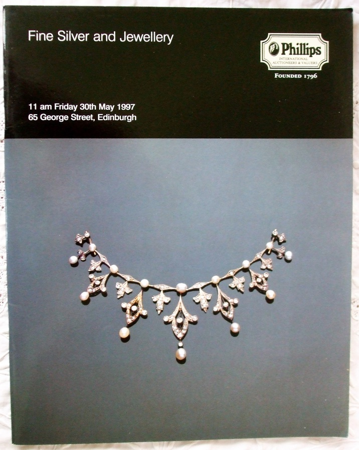 Phillips ~ Fine Silver and Jewellery ~ Edinburgh ~ 30. 05. 1997