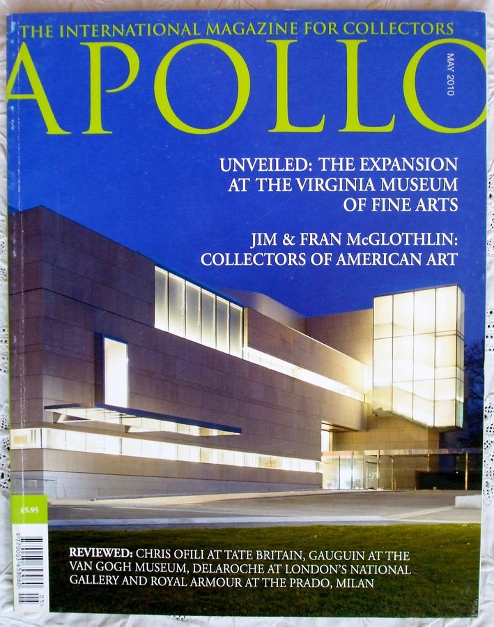 Apollo ~ Vol. CLXXI ~ No. 576 ~ May 2010