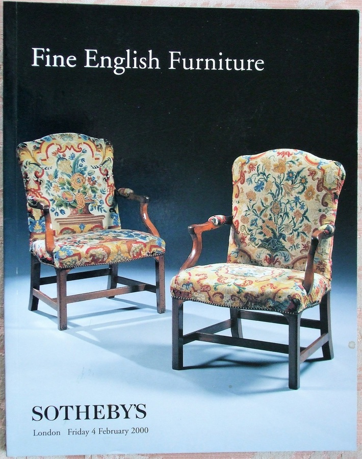 Sotheby's ~ Fine English Furniture ~ London ~ 04. 02. 2000